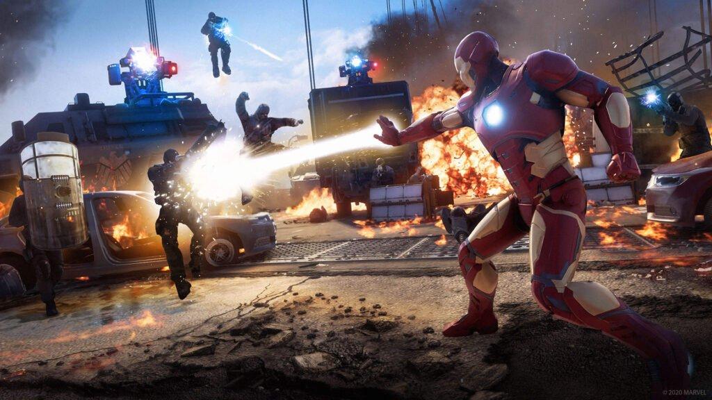 Marvel's Avengers Iron Man Combat