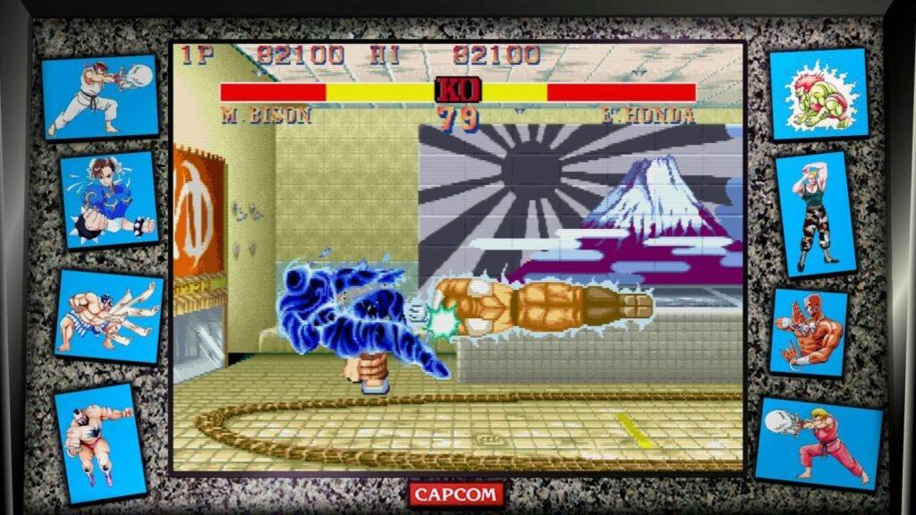 Street Fighter 2 Bison vs E Honda