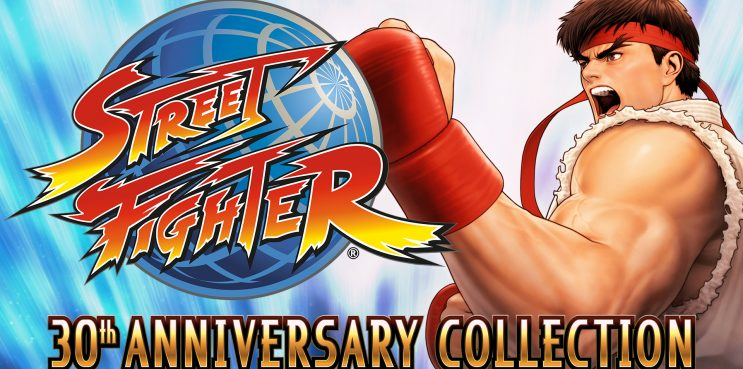 Street Fighter 30th Anniversary Collection Switch Key Art