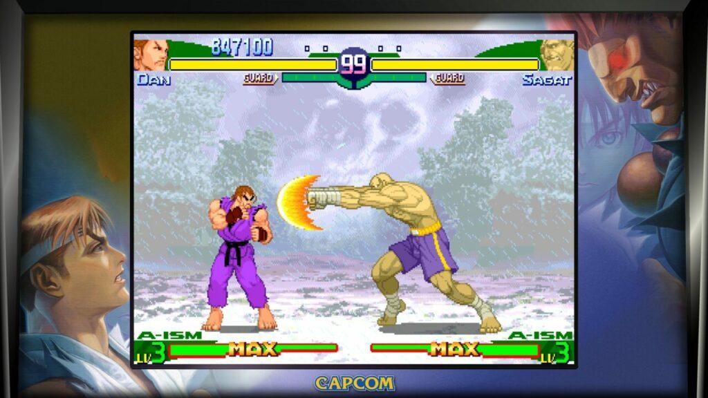Street Fighter Alpha Dan Sagat