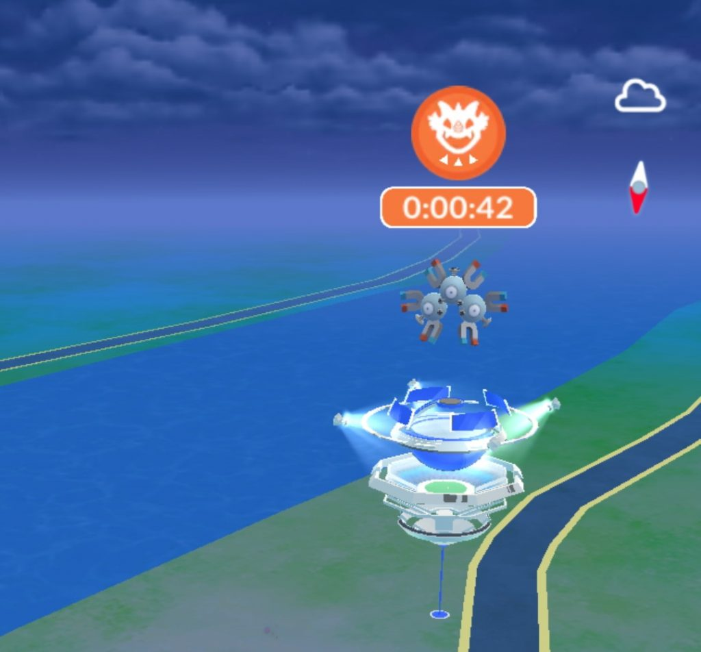 Pokemon Go - a Mystic Team Gym (How to earn coins in Pokemon Go)