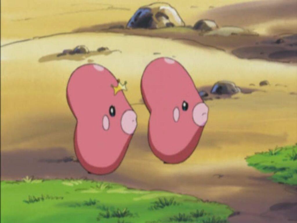 Luvdisc in Pokemon anime