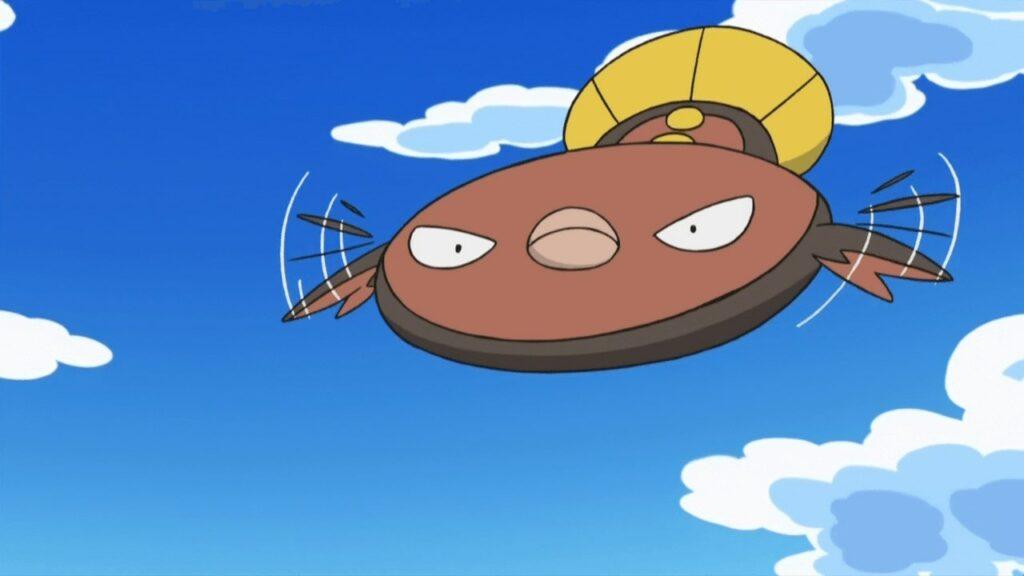 Stunfisk in Pokemon anime