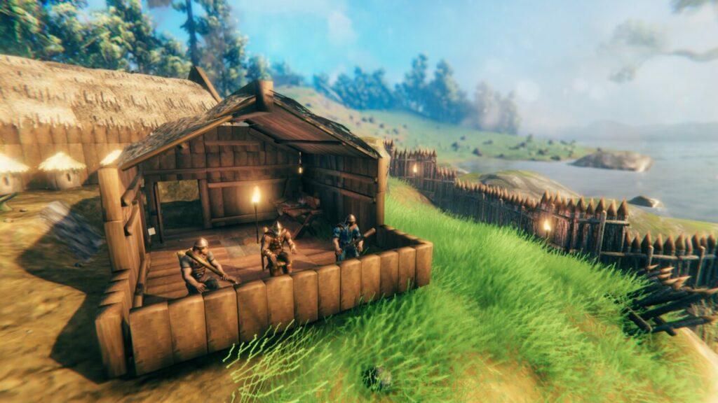 New Valheim Update Hut Fort
