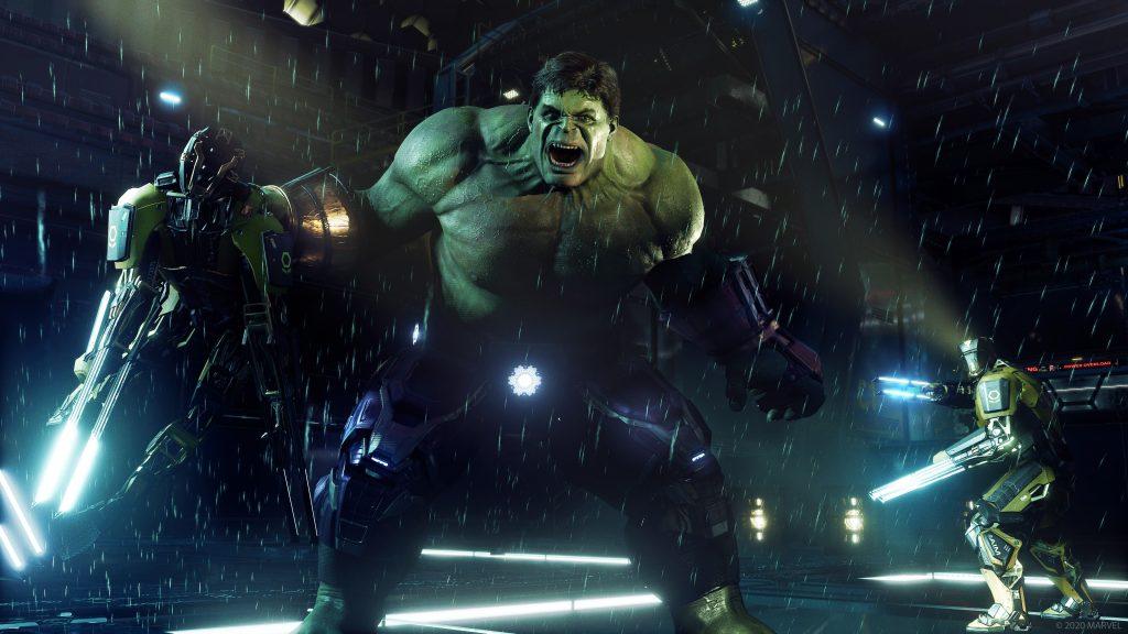 Marvel's Avengers Hulk Stark Tech