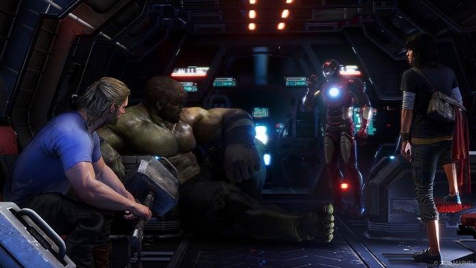 Marvel's Avengers Quinjet