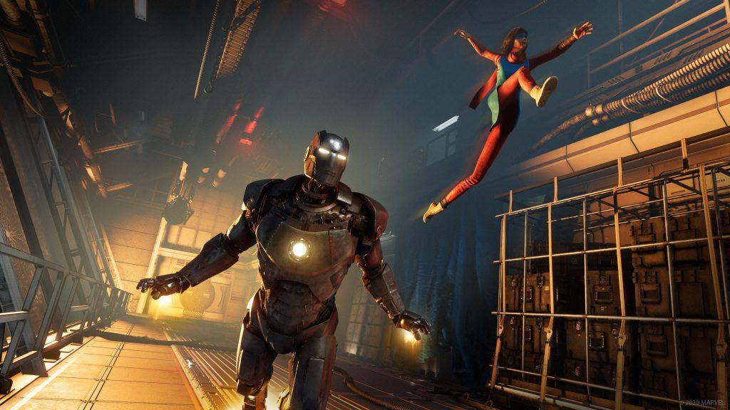 Marvel's Avengers Iron Man Kamala Khan