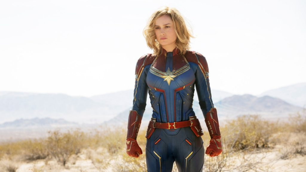 A still from Captain Marvel the second movie in the MCU to watch in chronological order.
