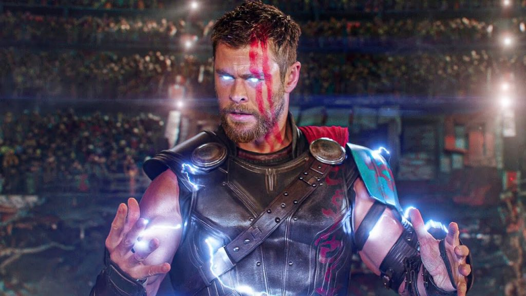 A still from Thor: Ragnarok the 19 movie in the MCU in chronological order.