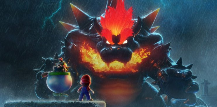 Mario 3D World Switch Bowser