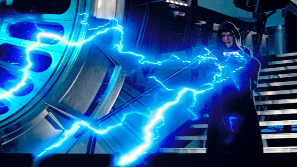 Palpatine force lightning