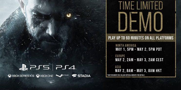 Resident Evil VILLAGE New Demo Release Dates