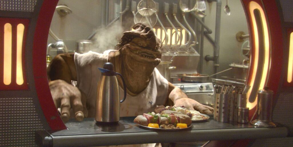 Jedi Fallen Order PS5 Dexter Jettster Star Wars Attack of the Clones
