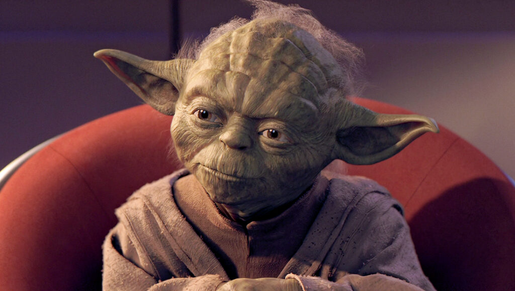 Star Wars Prequels Yoda Chair