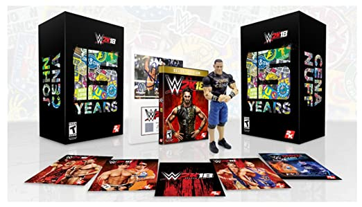 WWE 2K18 Collectors Edition