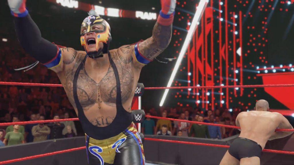 WWE 2K22 Trailer Rey Mysterio Cesaro 619 Set Up