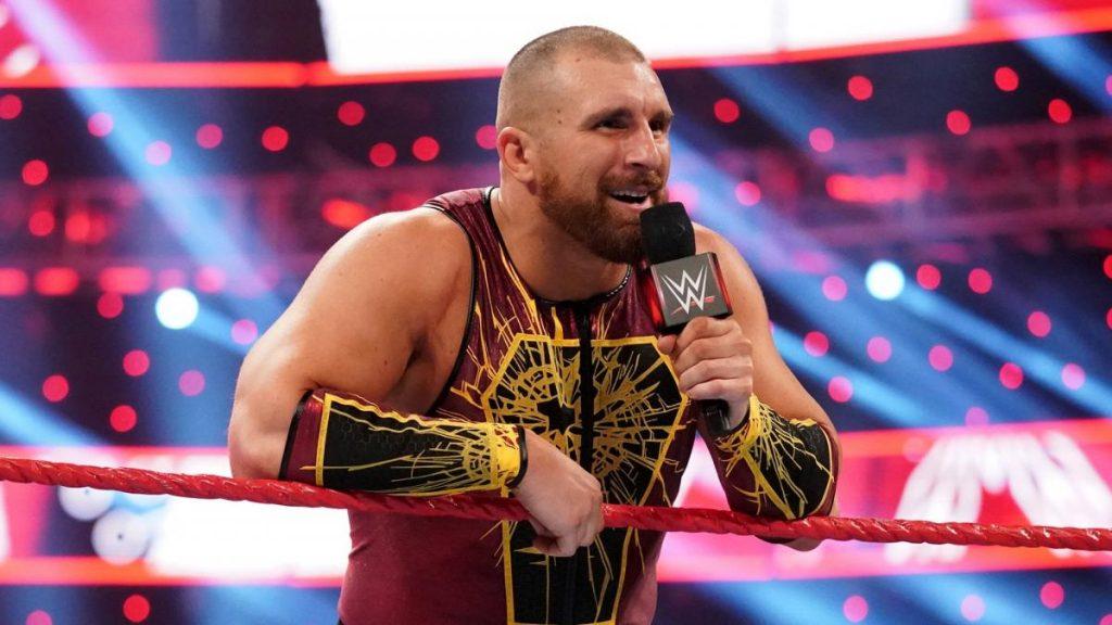 WWE Raw Mojo Rawley In Ring Ropes