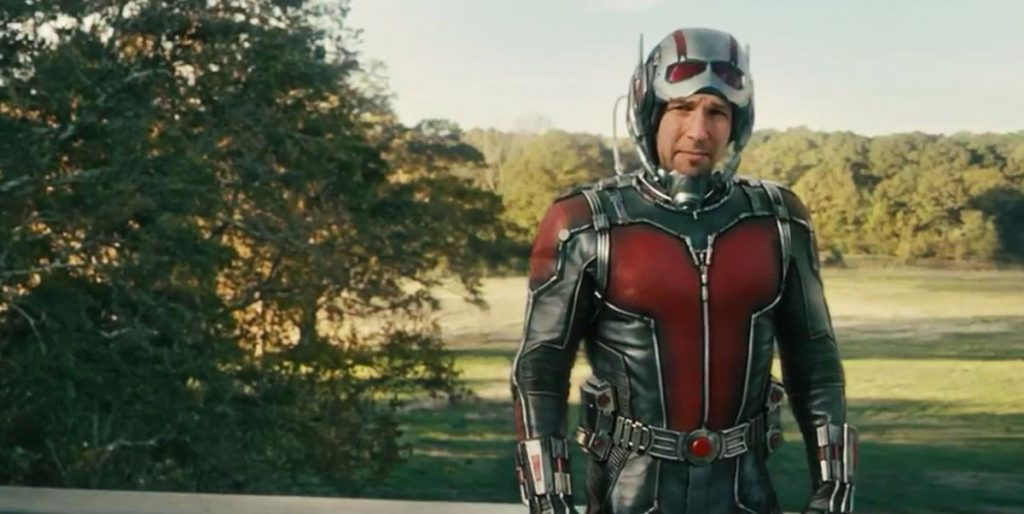 A still from Ant-Man the 14 movie in the MCU in chronological order.