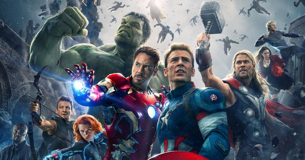 A still from Avengers: Age of Ultron the 13 movie in the MCU in chronological order.