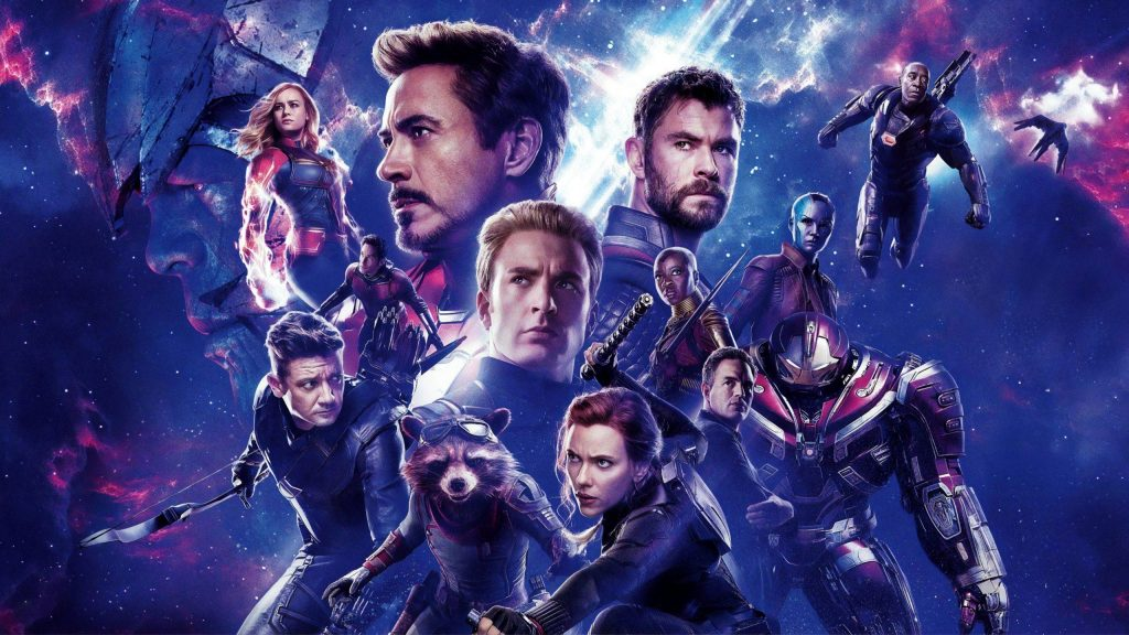 A promotional image from Avengers: Endgame the 22 movie in the MCU in chronological order.