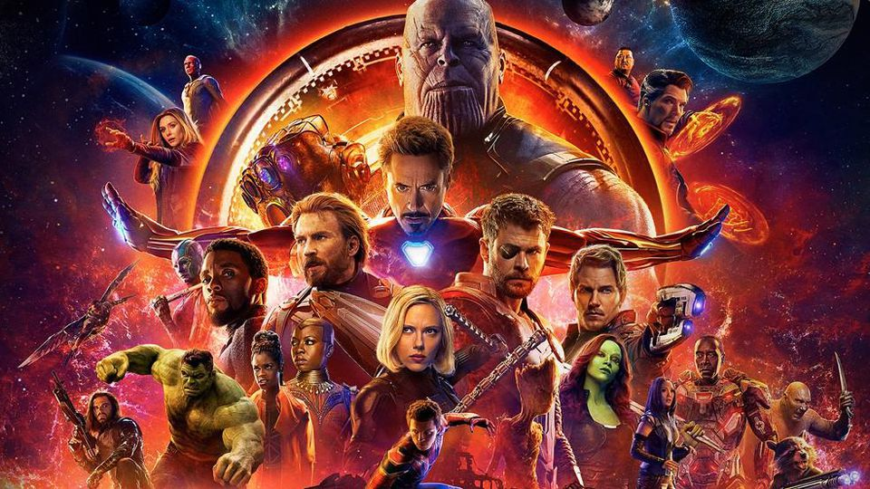 A promotional image from Avengers: Infinity War the 21 movie in the MCU in chronological order.