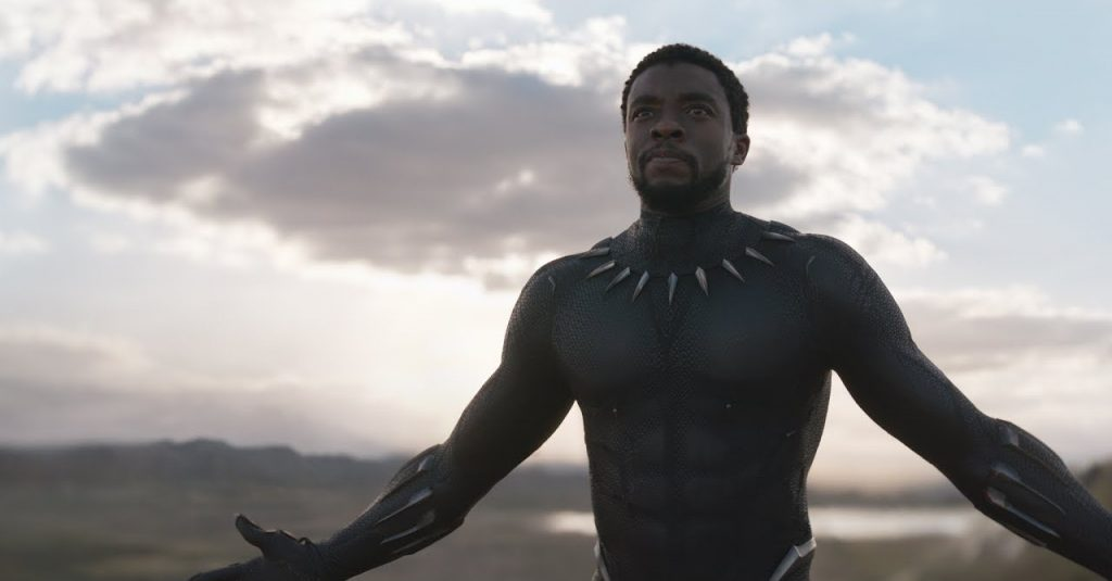 A still from Black Panther the 16 movie in the MCU in chronological order.