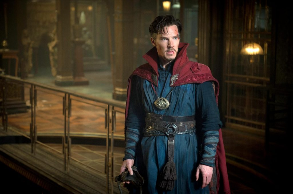 A still from Doctor Strange the 18 movie in the MCU in chronological order.