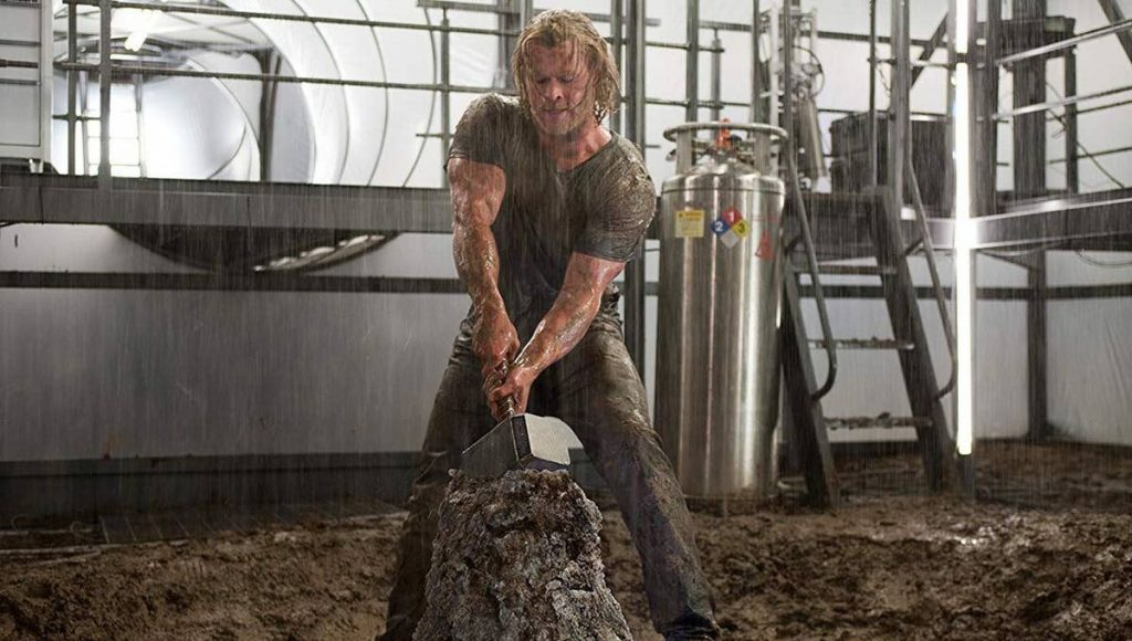 A still from Thor the sixth movie in the MCU in chronological order.