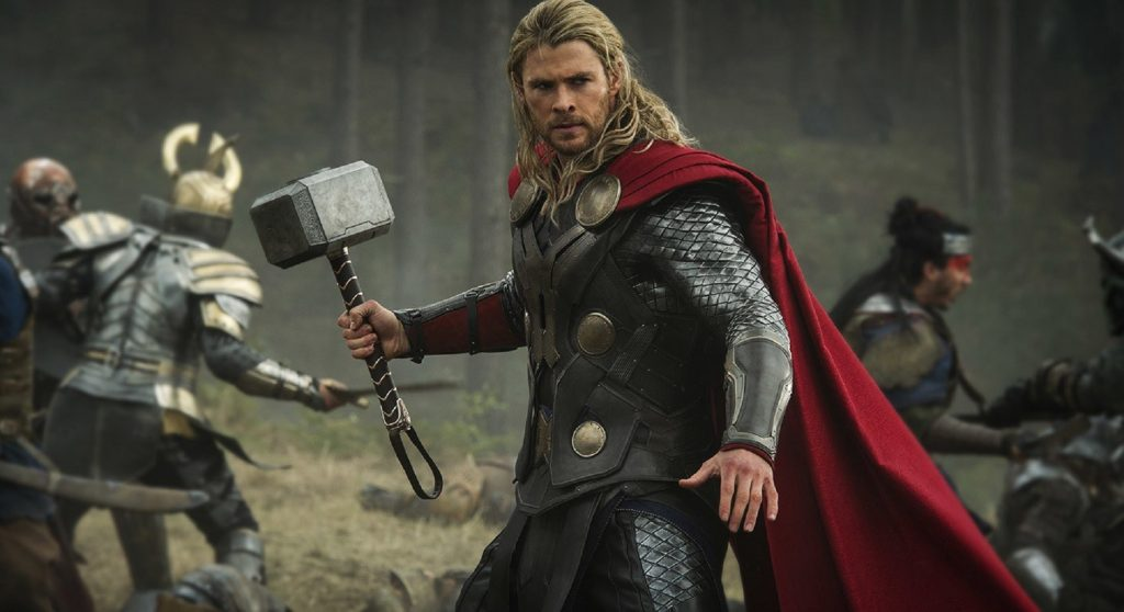 A still from Thor: The Dark World the ninth movie in the MCU in chronological order.