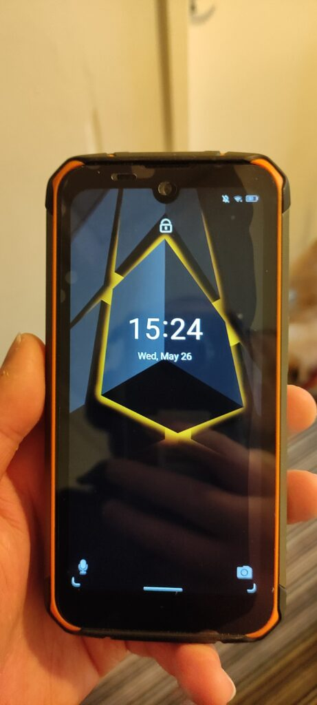 Dogee S59 Pro Phone After Stairs