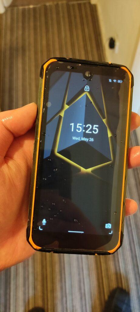 Dogee S59 Pro Phone Wet