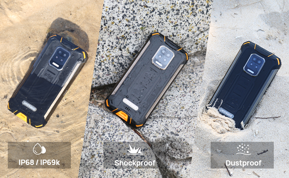 Doogee S59 Pro Safety