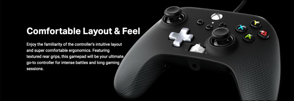 PowerA Enhanced Wired Controller Xbox One Xbox Series X Xbox Series S Diamond Grip Textured