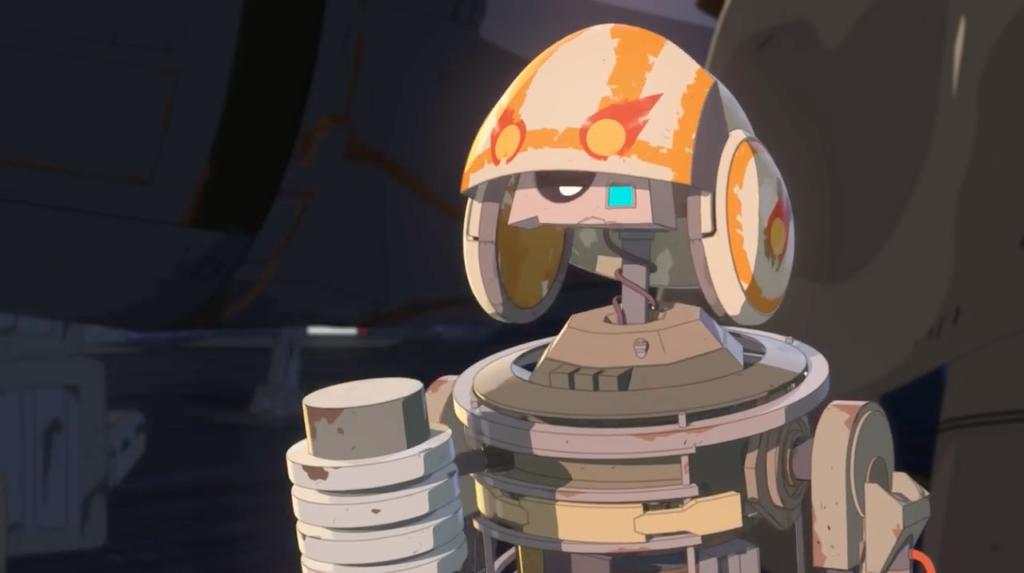Star Wars Droid Ranking R1 J5 Bucket