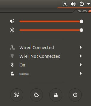 Ubuntu screen.