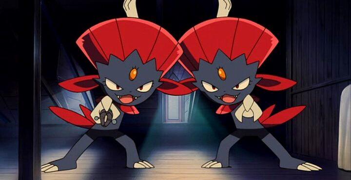 Pokemon Weavile