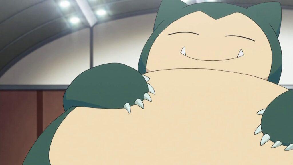 The Pokemon Snorlax in Pokemon Origins