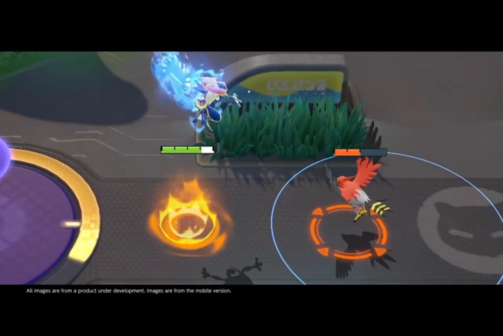 Pokemon Unite Greninja attack