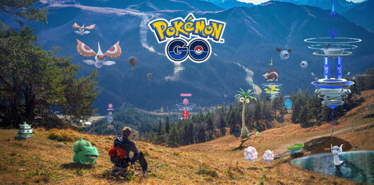 Pokemon Go Website updates