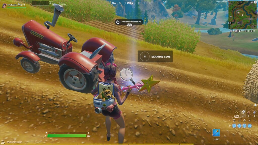 Fortnite Chapter 2 Season 7 Week 4 Search the farm for clues 1