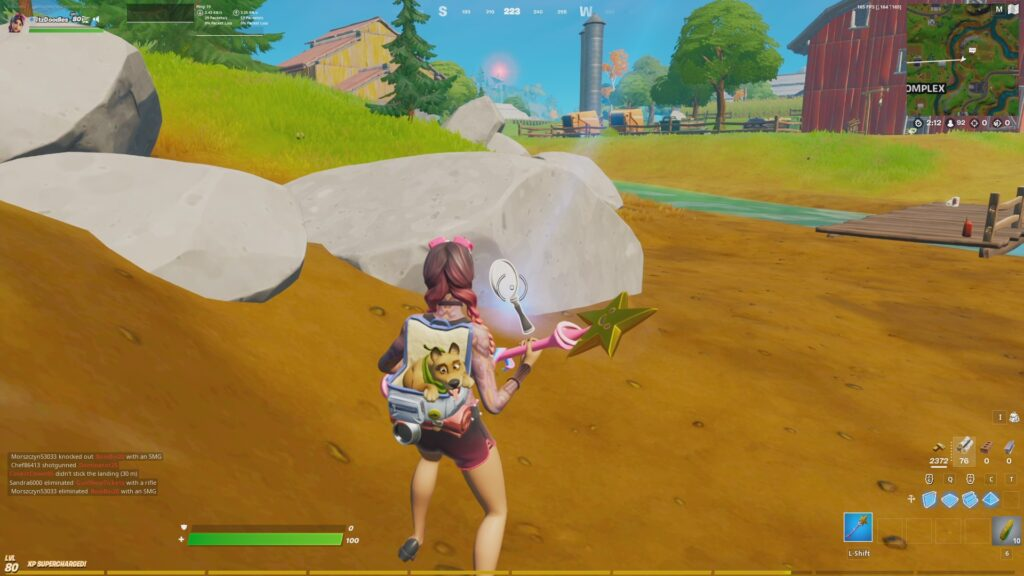 Fortnite Chapter 2 Season 7 Week 4 Search the farm for clues 2