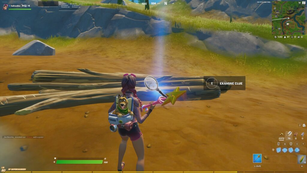 Fortnite Chapter 2 Season 7 Week 4 Search the farm for clues 4
