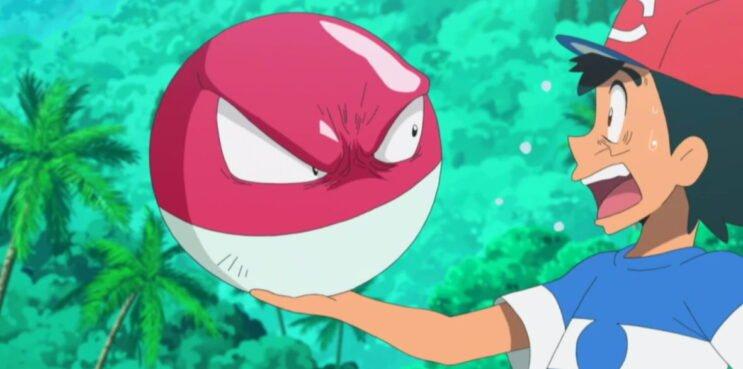Voltorb in the Pokemon Anime