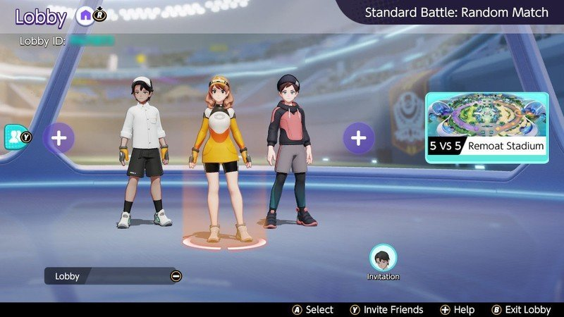 pokemon unite playing with friends