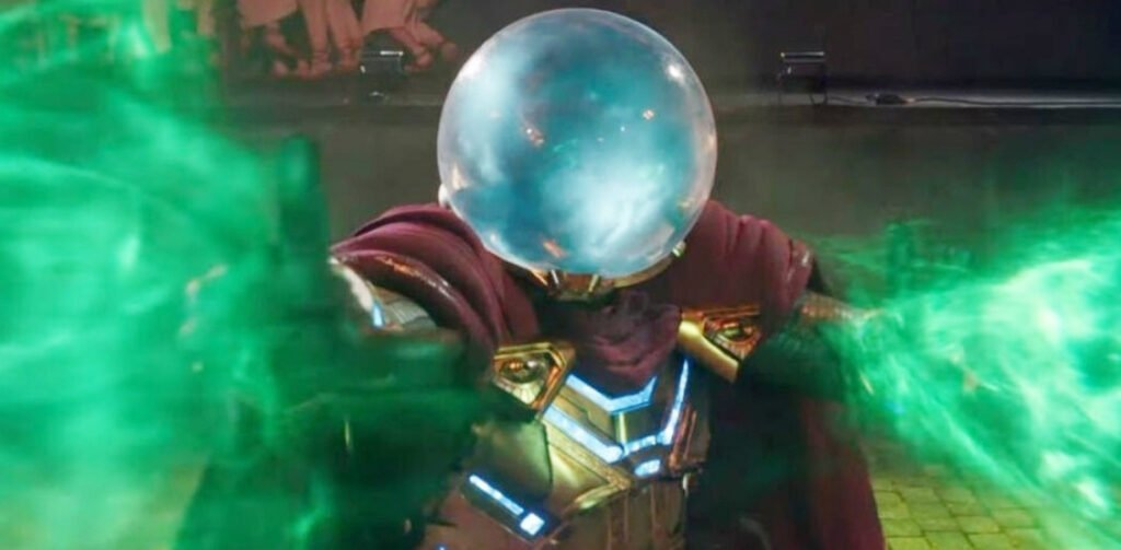 Mysterio from Spider-Man: Far From Home, a potential member of the Sinister Six.