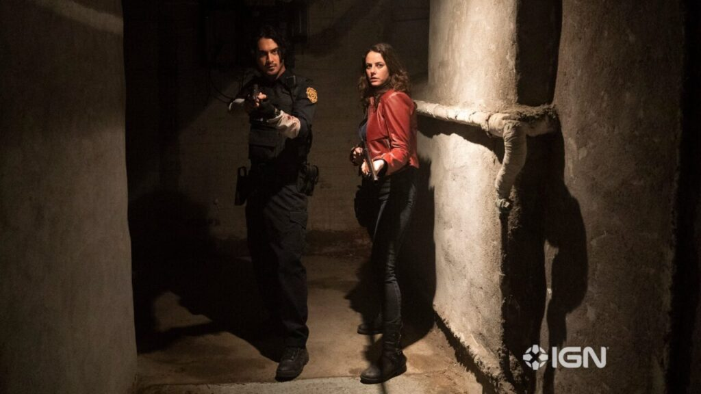 Resident Evil Welcome To Raccoon City Leon Kennedy Claire Redfield