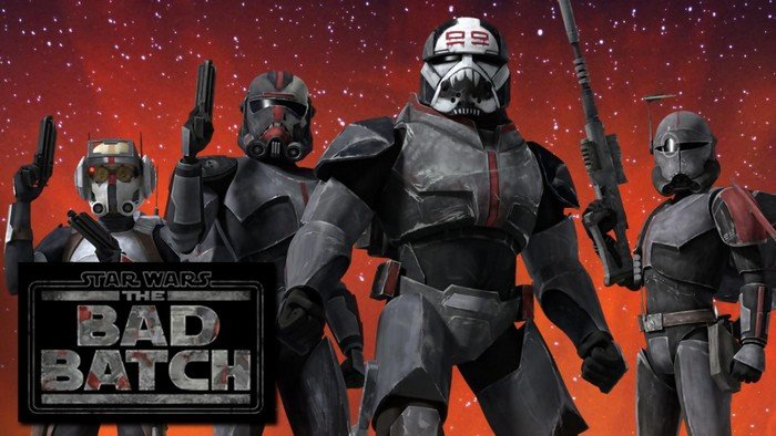 Star Wars: The Bad Batch feature image used in season 2 announcement piece