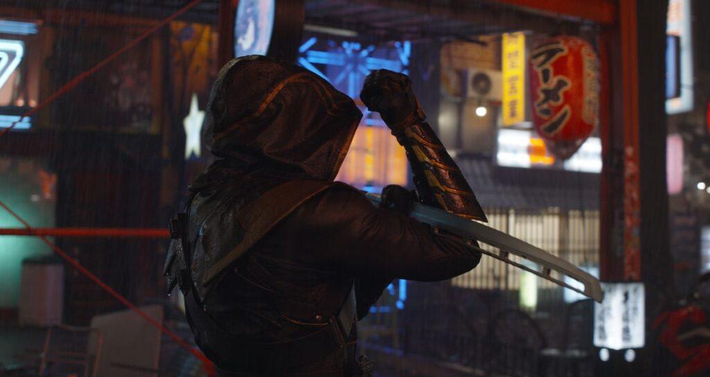 Clint Barton Ronin in Avengers: Endgame