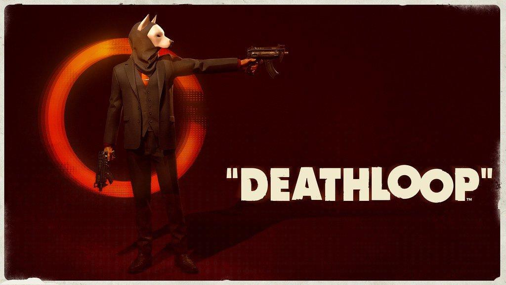 Deathloop Aleksis Key Art