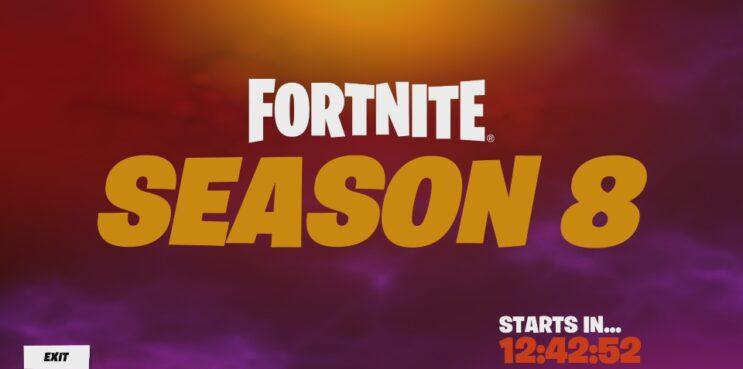 Fortnite Chapter 2 Season 8 Countdown